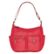 Rosetti® Riveting Seams Convertible Hobo Bag