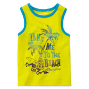 Arizona Graphic Muscle Tee – Baby Boys 3m-24m