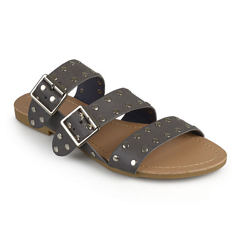 Journee Collection Darby Womens Flat Sandals