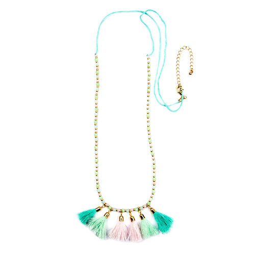 Decree Freeform Womens Strand Necklace