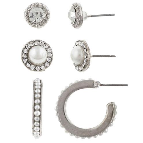 Bold Elements 3-pc. Earring Sets