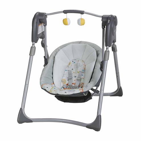 Graco Slim Spaces Compact Baby Swing - Linus