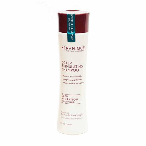Keranique Scalp Stimulating Shampoo Deep Hydration for Dry Hair