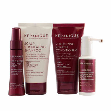 jcpenney.com | Keranique Deluxe Regrowth Treatment & Deep Hydration Kit