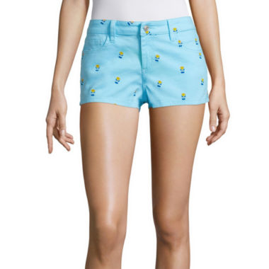 jcpenney.com | Sound Girl French Fry Print Shortie Shorts Juniors