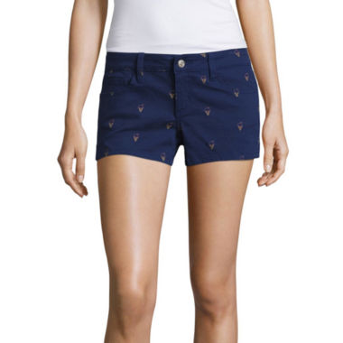 jcpenney.com | Sound Girl Ice Cream Print Shortie Shorts Juniors