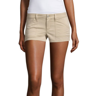 jcpenney.com | Arizona Twill Chino Shorts-Juniors