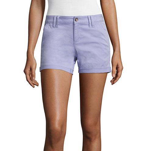 """Arizona 4.5"""" Midi Shorts-Juniors"""