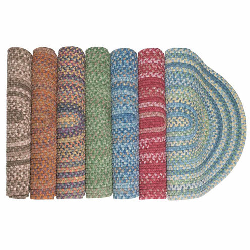 Colonial Mills® Greenbrier Reversible Braided Wool Oval Runner Rug