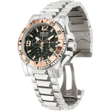 jcpenney.com | Invicta® Reserve Excursion Mens Rose Gold-Plated Chronograph Watch