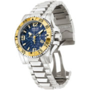 Invicta® Reserve Excursion Mens Two-Tone Round Watch