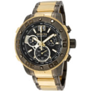 Invicta® Ocean Hawk Mens Two-Tone Chronograph Bracelet Watch