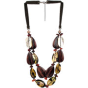 Designs by Adina Rope Mixed Media Necklace