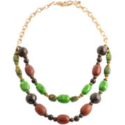 Art Smith by BARSE Mixed Gemstone Double-Strand Necklace