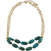 Art Smith by BARSE Turquoise Double-Row Necklace