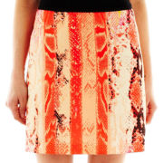 Worthington® A-Line Print Skirt