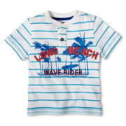 Arizona Short-Sleeve Henley Tee - Boys 12m-6y