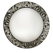 Venetian Scroll Round Wall Mirror
