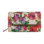 Mundi® Big Fat Floral Splatter Wallet