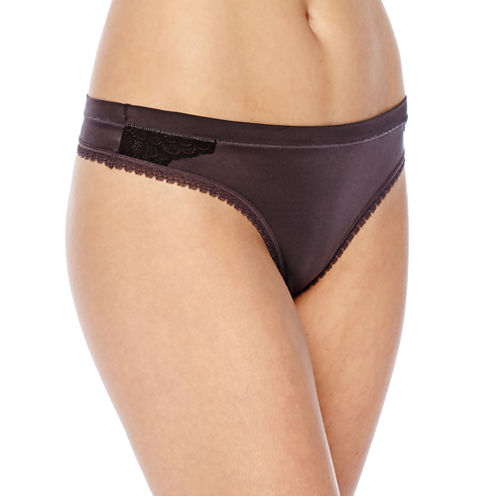 Ambrielle® Super Soft Thong Panties