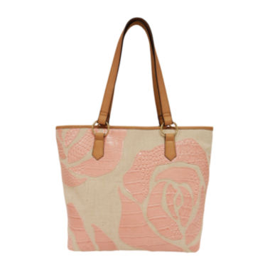 jcpenney.com | St. John's Bay® Floral Applique Tote