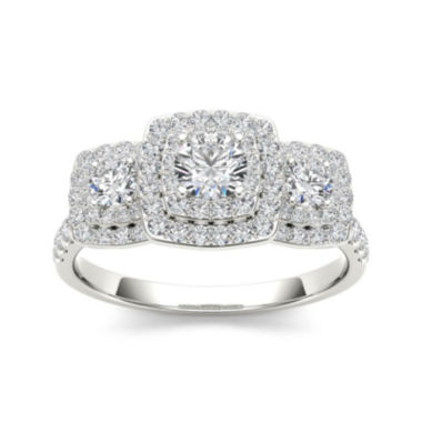 jcpenney.com | 1 CT. T.W. Diamond 10K White Gold Engagement Ring