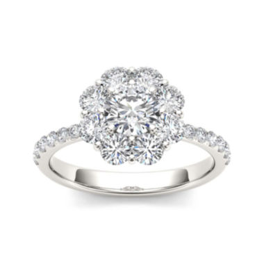 jcpenney.com | 1 3/4 CT. T.W. Diamond 14K White Gold Engagement Ring