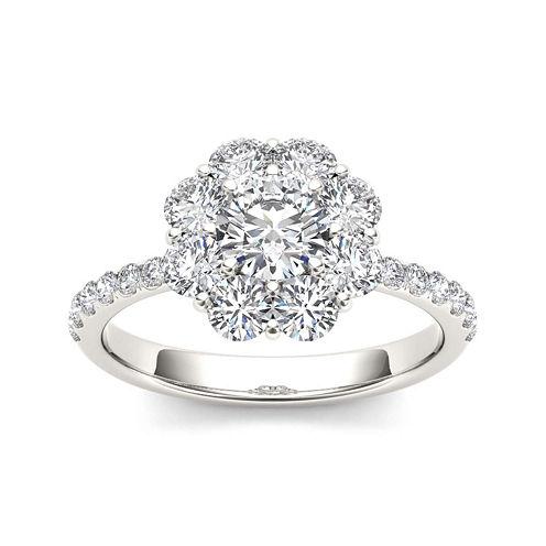 1 3/4 CT. T.W. Diamond 14K White Gold Engagement Ring