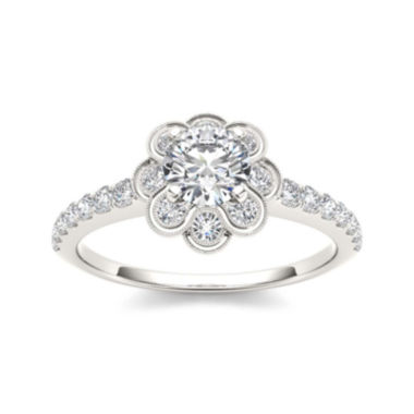 jcpenney.com | 1 1/4 CT. T.W. Diamond 14K White Gold Engagement Ring
