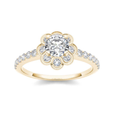 jcpenney.com | 1 1/4 CT. T.W. Diamond 14K Yellow Gold Engagement Ring