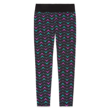 jcpenney.com | Xersion™ Printed Skinny Yoga Pants - Girls 7-16 And Plus