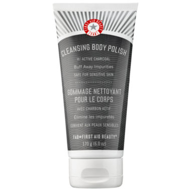 jcpenney.com | First Aid Beauty Cleansing Body Polish with Active Charcoal