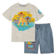 Disney Lion Guard Tee and Shorts Set - Boys 2-8