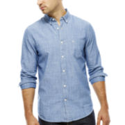 Dockers® Long-Sleeve Solid Chambray Shirt