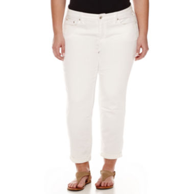 jcpenney.com | Stylus™ Skinny Fit Ankle Pants - Plus