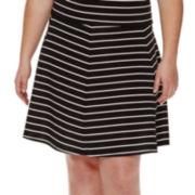 Decree® Skater Skirt - Plus