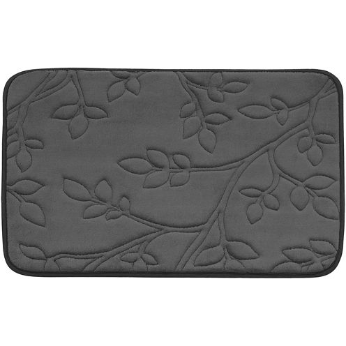 Bounce Comfort Spring Leaves Memory Foam Bath Mat Collection
