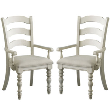 jcpenney.com | Tucker Hill Set of 2 Ladder-Back Arm Chairs