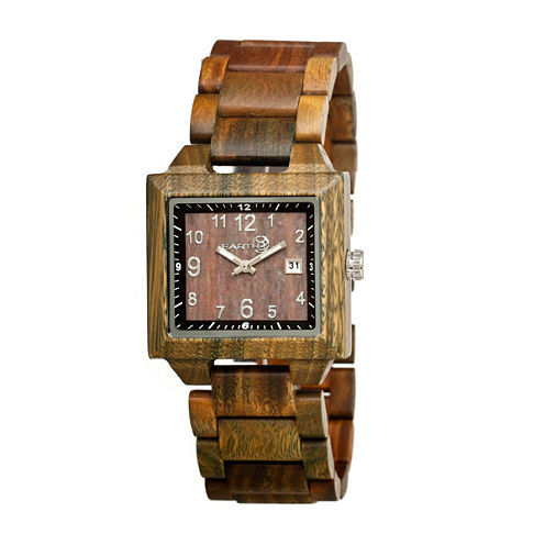 Earth Wood Culm Unisex Green Bracelet Watch-Ethew1004