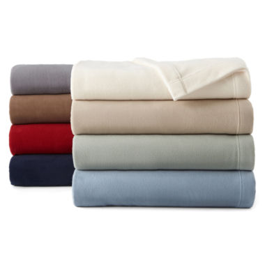 jcpenney.com | JCPenney Home™ Ultra Soft Micro Fleece Blanket