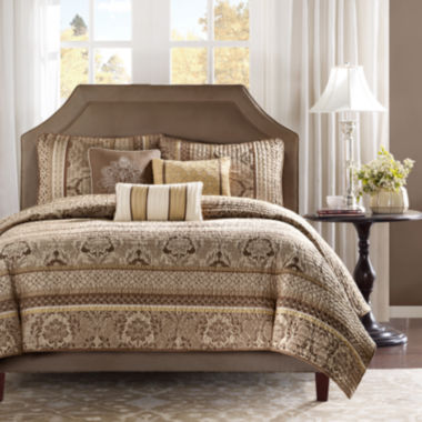 jcpenney.com | Madison Park Venetian 6-pc. Coverlet Set