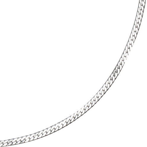 """Silver Reflections™ 16-24"""" Silver-Plated Herringbone Chain"""