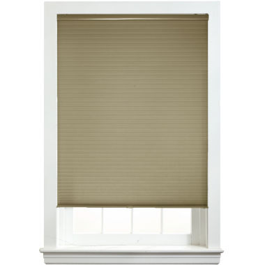 "jcpenney.com | Custom Cordless ½"" Light-Filtering Double Cellular Shade - FREE SWATCH"
