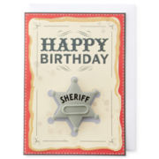MarthaCelebrations™ Birthday Card – Sheriff