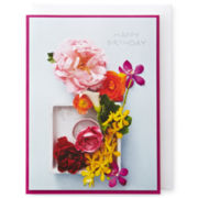 MarthaCelebrations™ Birthday Card – Mixed Floral