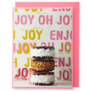 MarthaCelebrations™ Birthday Card – Enjoy Sweets