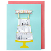 MarthaCelebrations™ Birthday Card – Three-Layer Cake