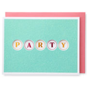 MarthaCelebrations™ Birthday Card – Let's Party