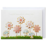 MarthaCelebrations™ Mother's Day Card – Floral Cookie Garden
