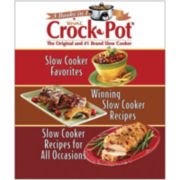 Rival Crock Pot®, The Original and #1 Brand Slow Cooker: 3 Books in 1